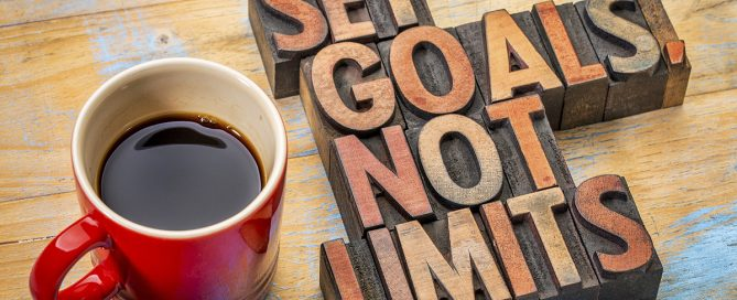 goal setting-set goals, not limits