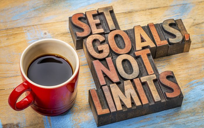 goal setting-set goals, not limits