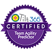Tilt365 Certified Team Agility Predictor Badge