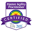 Tilt365 Master Agility Practitioner Badge