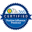 Certified Tilt365 Positive Influence Predictor Badge
