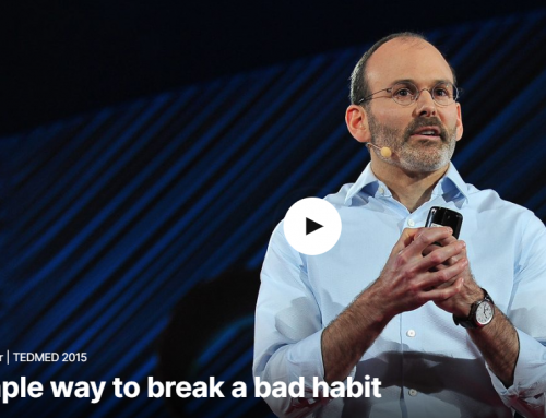 TED Talk: A Simple Way to Break a Bad Habit | Judson Brewer