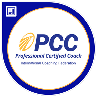 International Coaching Federation Professional Certified Coach Badge