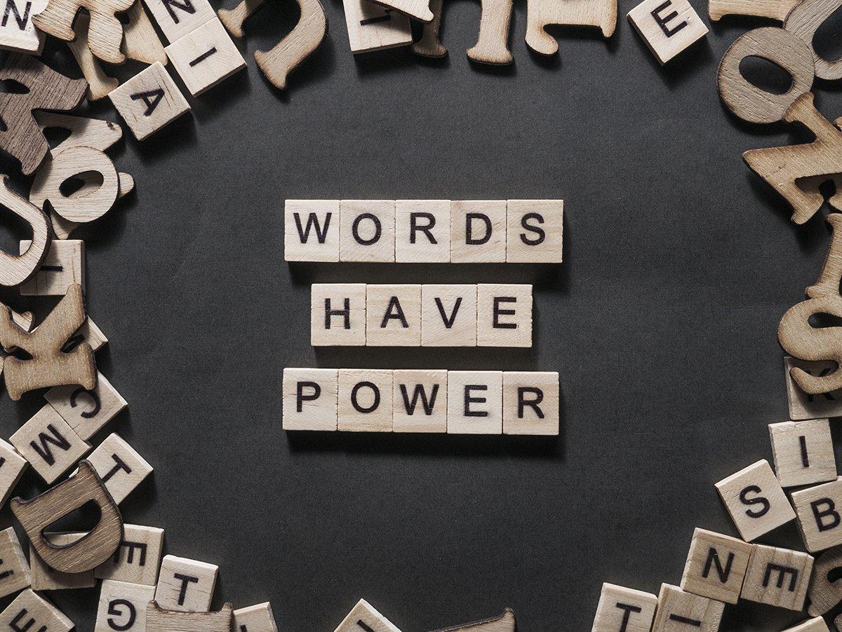 Feeling Generous-Words Have Power