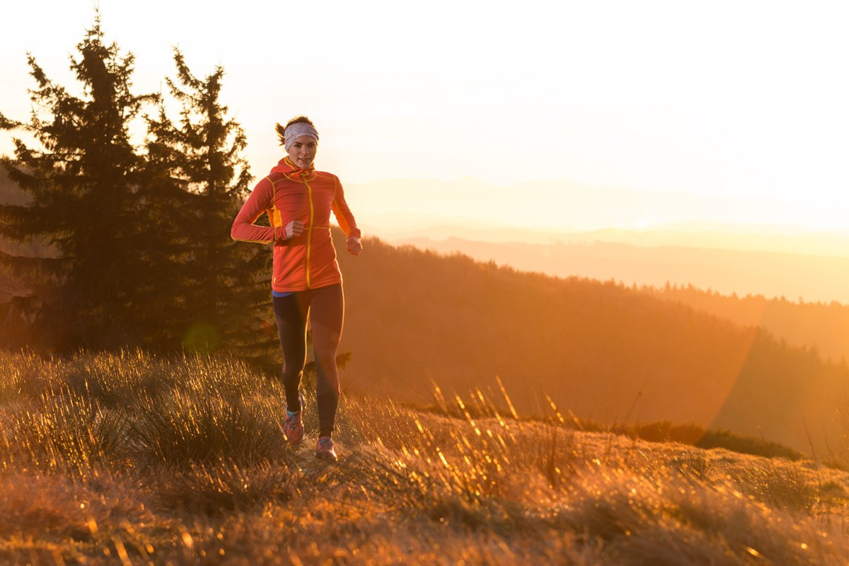 2020 Gratitude-Beth Cline-Woman running in autumn